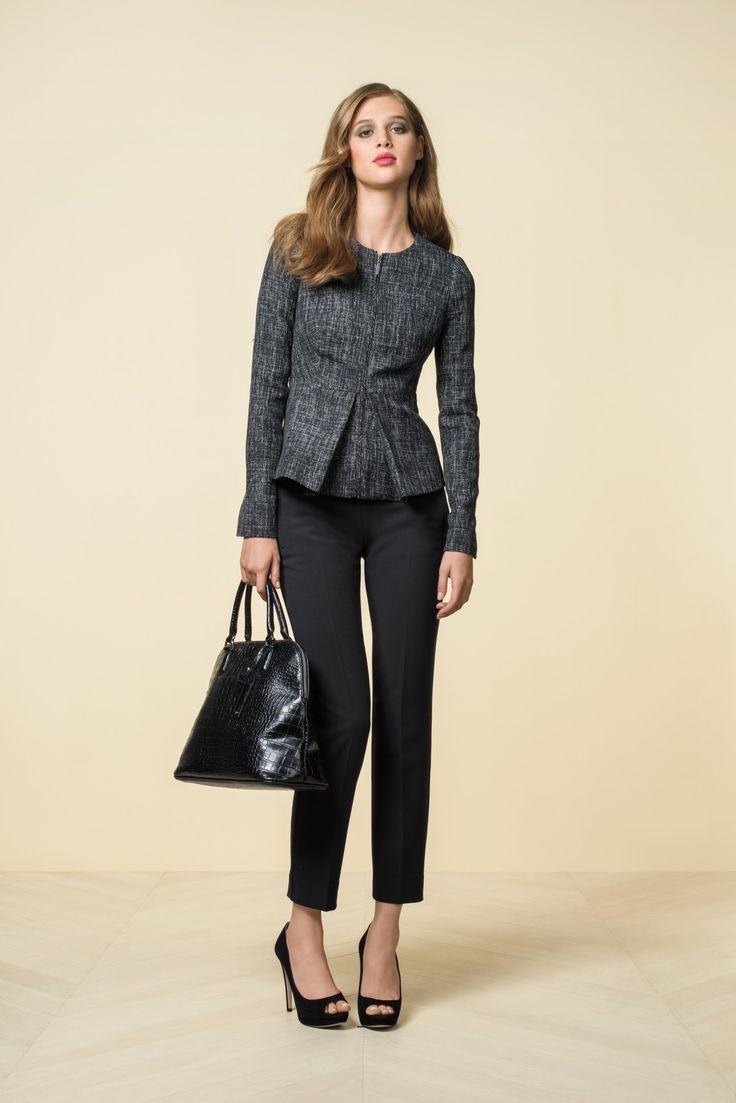 This tweed peplum jacket from the Limited is one of my favorite items of clothing that I own.  I wear it all of the time.