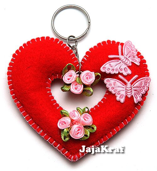 JajaKraf.Com » Blog Archive » Felts for Aja & plain grosgrain ribbons