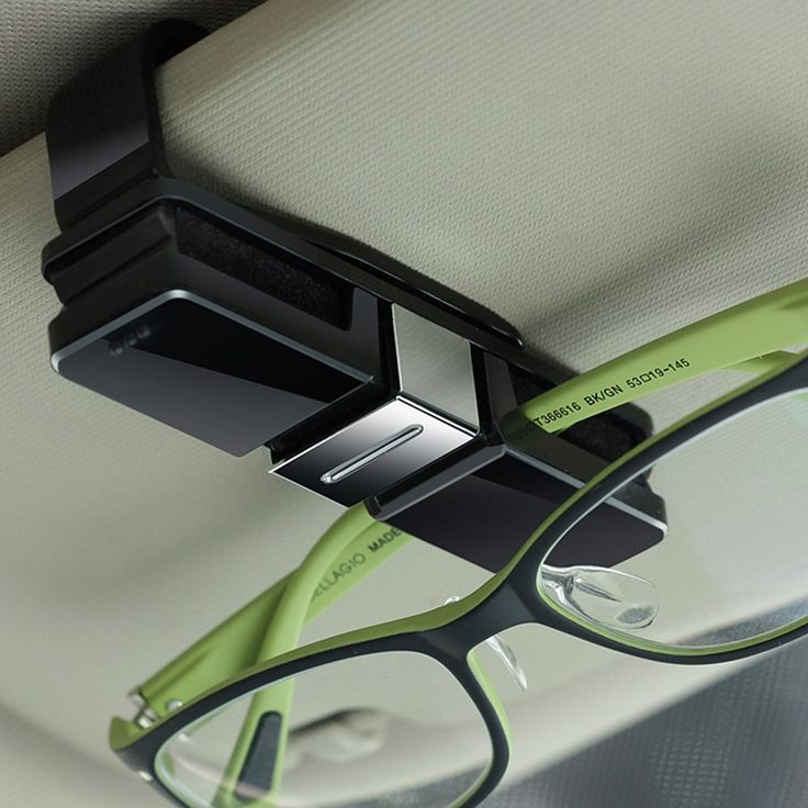 Glasses Sun Visor Clip #car, #glasses, #holder