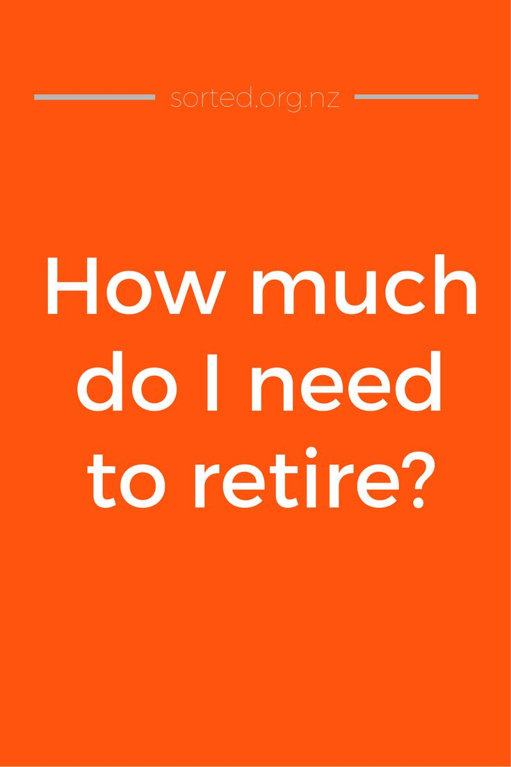 How much money do I need to retire? Here's what you might expect a household to spend in retirement - so you can work out how much to save for retirement.