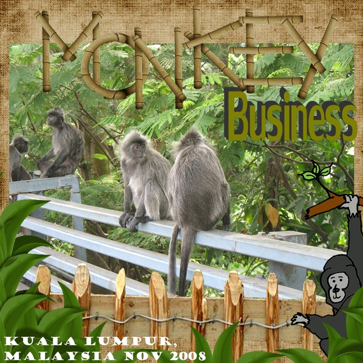 Monkey Business - Scrapbook.com