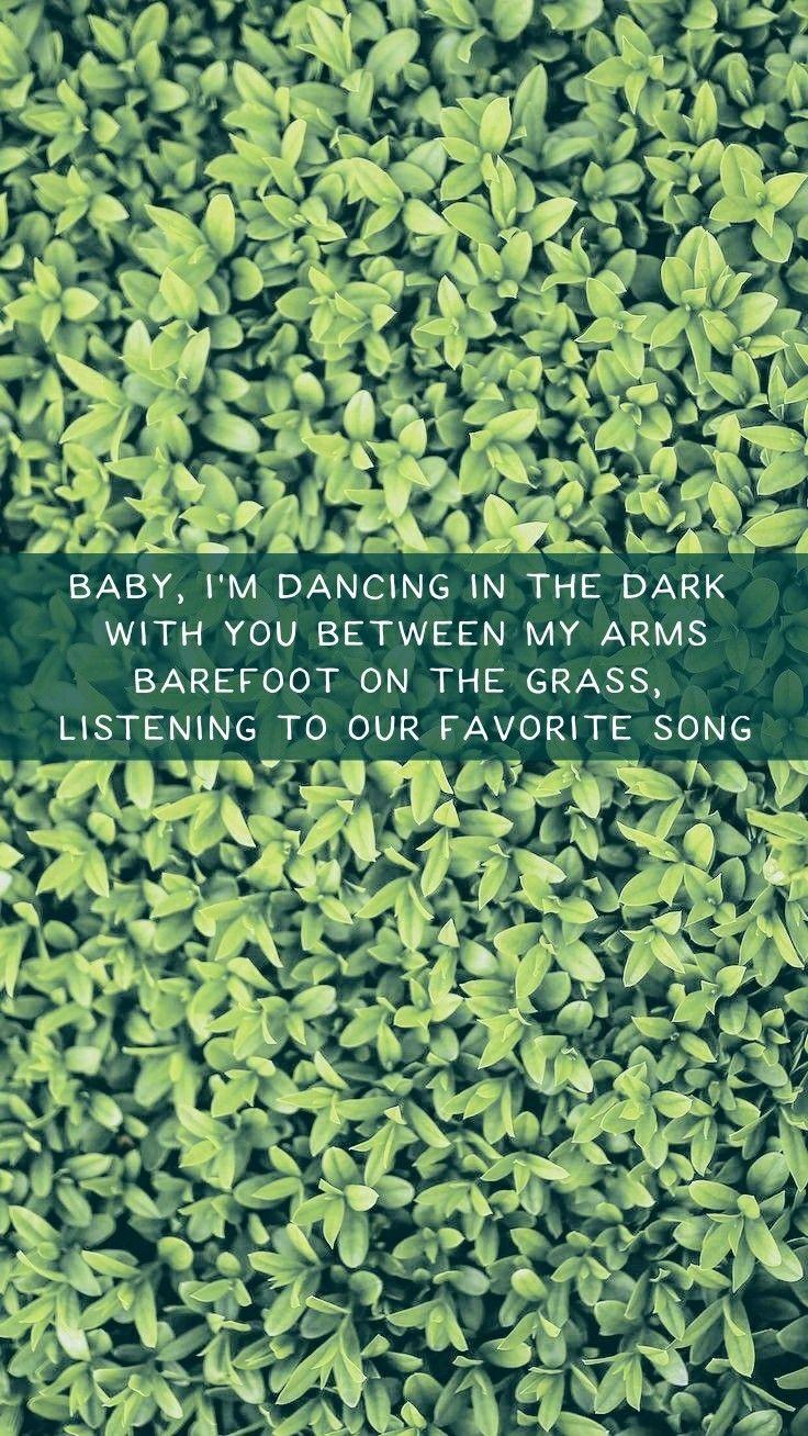 Perfect - Ed Sheeran Lyrics Lockscreen