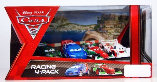 Disney / Pixar CARS 2 Movie Exclusive Die Cast Car Racing 4Pack Francesco Bernoulli, Shu Todoroki, Nigel Gearsley Raoul Caroule by Mattel Toys. $32.50. This Target exclusive 4-pack includes Francesco Bernoulli & Shu Todoroki & Nigel Gearsley & Raoul Caroule. Disney/Pixar Cars 2 Movie Collection 1:55 scale 4-pack from Mattel. For Ages 3 & Up. Its Cars heaven with 4 of your favorite racing characters in 155 scale. Create an instant Cars collection with these diecast vehicles!