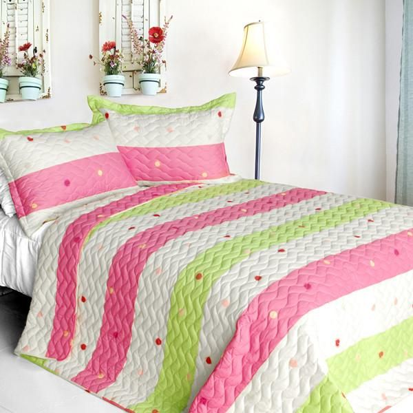 Lime Green And Pink Bedding: 19 Best Pink & Green Bedroom Images On Pinterest
