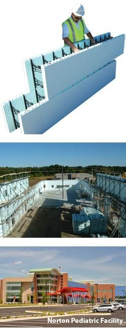 Nudura Insulated Concrete Form System Architecture And