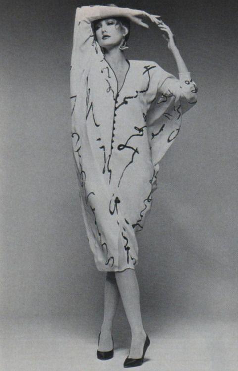 Hanae Mori, American Vogue, September 1984.