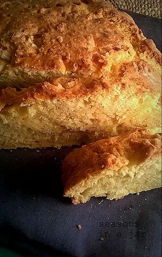 Seasons in a jar: Αλμυρό κέικ με τυριά