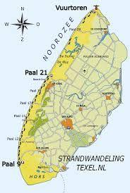 Texel-strandwandeling