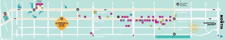 Denver's Art District on Santa Fe - Free First Friday Shuttle Coach - Over 40 art galleries, artist studios and other creative organizations are open until about 9:30PM