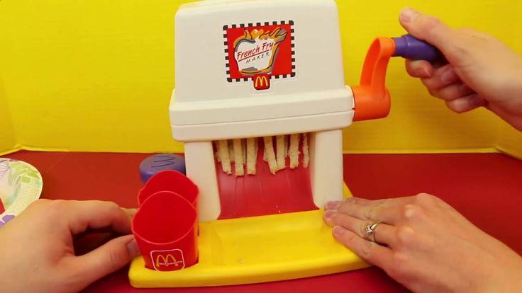 McDonalds Happy Meal Magic FRENCH FRY Maker Playset & Vintage McDonalds ...