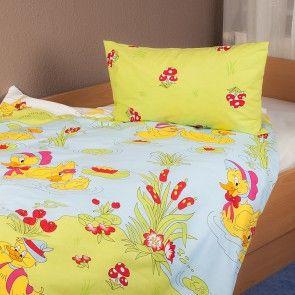 Niedliche Ententeich Bettwäsche Für Baby´s Und Kleinkinder