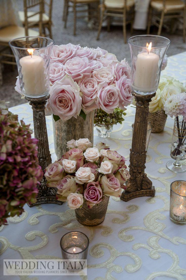 #CastelloDiModanella #PhCarloCarletti #OriginalChurchOldGoldCandlestick #FlowersDecorations #SweetAvalanche #SprayRoses #Hydrangeas #Candles