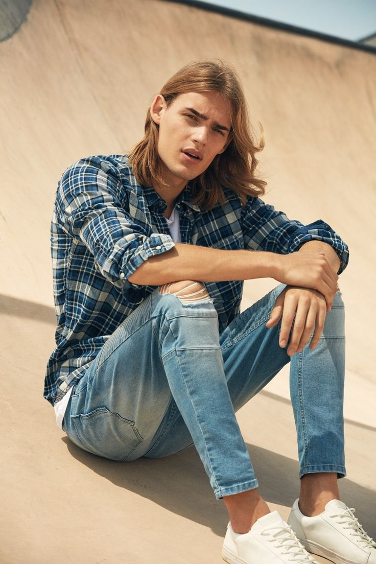 Ton Heukels | male model; long haired men | photo by Esperanza Moya for Guy autumn 2016