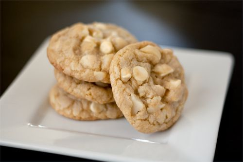 Hands down The Best White Chocolate Macadamia Nut Cookies I have ever made! Have also made with pecans :) - Handle the Heat
