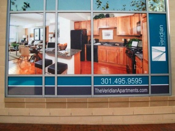 Window Graphics and Imaged Glass - Banana Banner