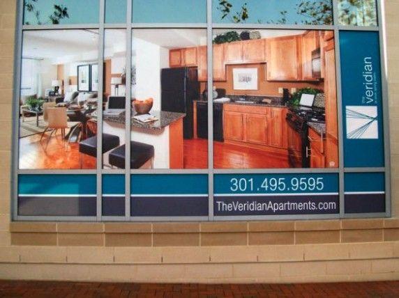 Window Graphics and Imaged Glass - Banana Banner