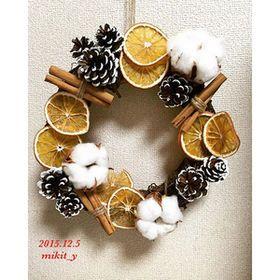 インスタで話題♡ドライオレンジで作るクリスマスリースが可愛い♪ - NAVER まとめ