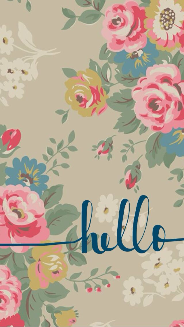 Love Your Wallpaper : Hello phone, iphone wallpaper, cute, background Phone ...