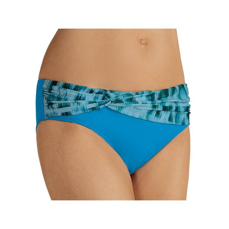 Women's Amoena Animal Print Bikini Bottoms, Size: 18, Ovrfl Oth
