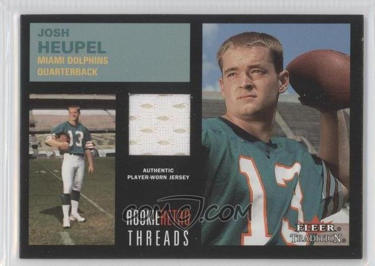 2001 Fleer Tradition - Josh Heupel -   OU Football stars ...