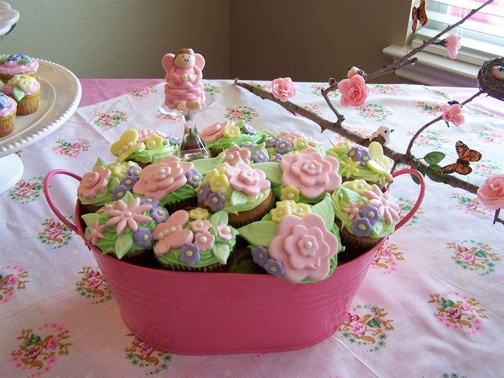 Cupcake, Çiçek, Kutlama, Fırınlama, Kek, Rozet