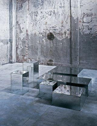 Illusion coffe table by Jean-Marie Masaud for Glas Italia