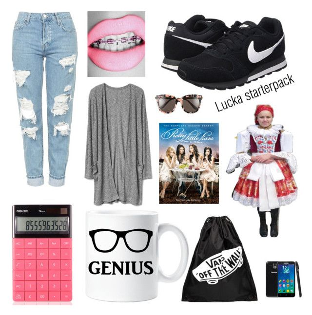 """""""Untitled #13"""" by luc-ka on Polyvore featuring Topshop, NIKE, Lenovo and Gentle Monster"""