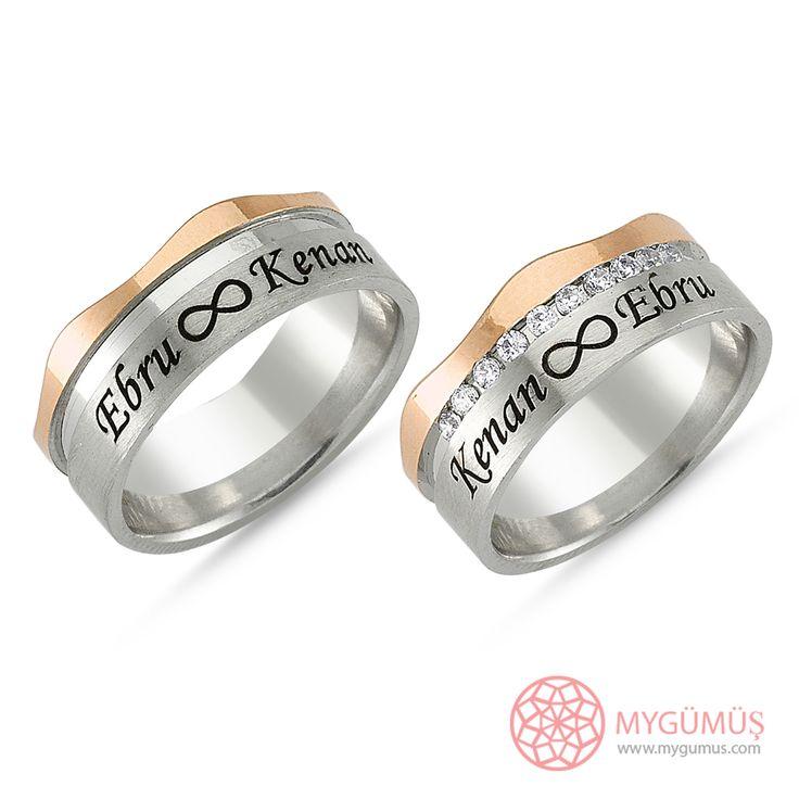 Gümüş Alyans MYA1004   #gümüş #alyans #çelik #yüzük #ring #wedding #evlilik #düğün #söz #nişan #mygumus #mygumuscom #çift #erkek #kadın #woman #man #moda #takı #jewellry
