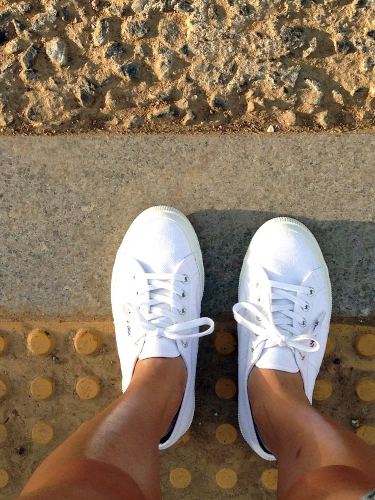 white sneakers, superga, dailylook, fashion, woman