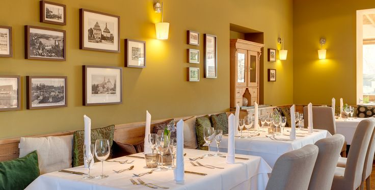 The restaurant at Strandhaus Spreewald uses regional and seasonal products; the vegetables are mainly obtained from local farmers while the chef grows vegetables and herbs in his own garden