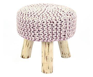 """Stolička """"Hand Knit VI"""", výš. 65, Ø 40 cm"""