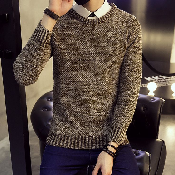Cashmere Sweater Men Coat Pullover Man Turtleneck Wool Sweaters Mens Zipper Male Winter And Pullovers For Striped m05