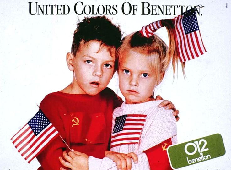 How Benetton is changing its colours