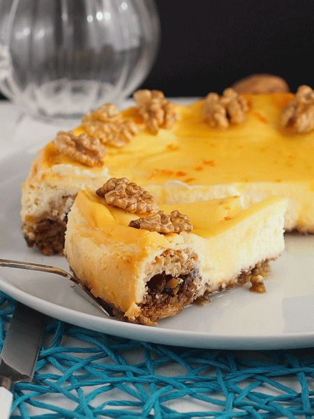 Baklava Cheesecake / Cheesecake με Μπακλαβά