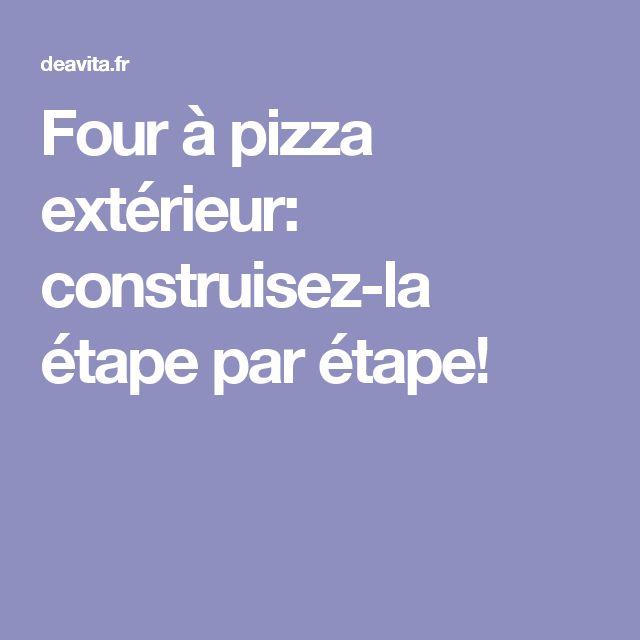Four A Pizza Exterieur sur Pinterest  Four a pizza, Chuncheon et Four