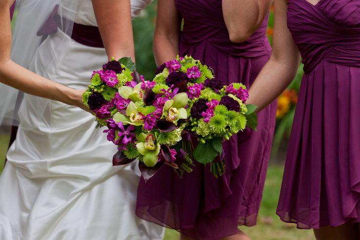 Magenta Magic – July 2012 Wedding