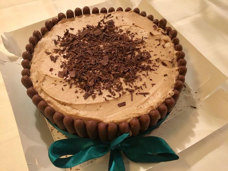 Chocolate cappuchino cake