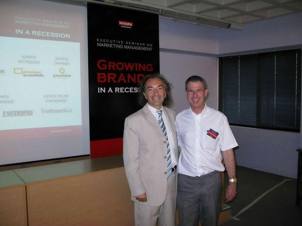 DKG in Growing Brands in a Recession Seminar by Prof. Leslie de Chernatony ~ DKG GROUP