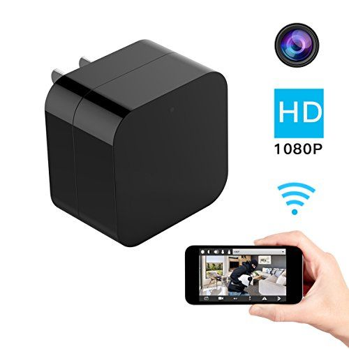 Hidden Spy Camera, 1080P Home Security Mini Camera USB Charger with WiFi Remote View, Motion Detection (Upgraded Version) - Best Option - Why Should You Choose Us! √WIFI Remote View You can know what was happening when you are far away from home. Everything is under your control. No need to worry any more! √Motion Dtection When motion is detected, then alarm will will be triggered, instant message will b...