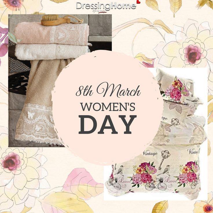 Χρόνια πολλά σε όλες τις γυναίκες!!  ♀️😊👌🎀👩💝💐🌸  #dressinghome #womensday #happywomensday #spring #8thmarch #march #newseason #neweshop #eshop #justopened #dressinghomecom #homelinen #newcollection #homedecoration #homedecor #homeaccessories #home #qualityproducts #homestyle #homefashion #leukaeidi #spring18 #newentry #μαρτιος #8μαρτιου #ημερατηςγυναικας #ανοιξη #λευκαειδη #νεασεζον