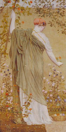 Tate Collectives Albert Moore, A Garden 1869