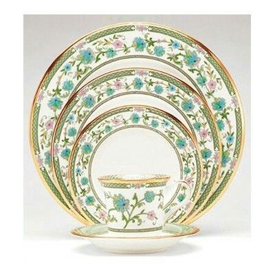 """""""Yoshino"""" by Noritake. Not my usual colors, but the detail is just SO pretty."""
