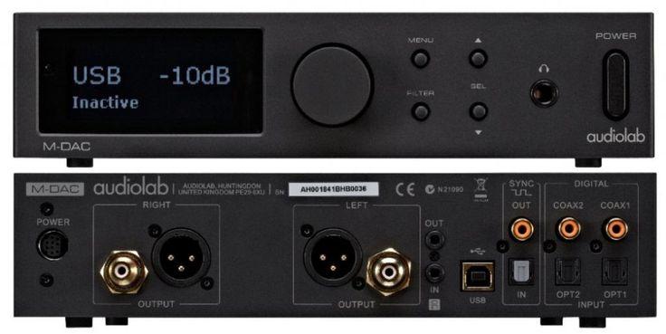 Audiolab M-DAC (4578024243) - Allegro.pl
