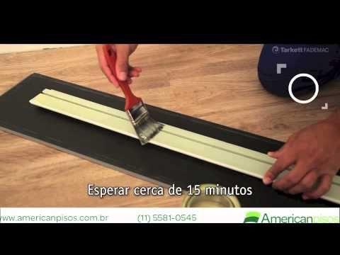 Como instalar piso vinílico clicável? American Pisos - YouTube