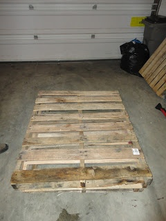 Pallet tv stand DIRECTIONS!