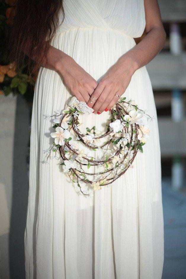 Ramo de novia de colores hecho a mano