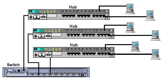 What is the Difference Between Bridges, Hubs, and Switches?