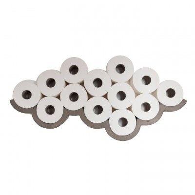 Objet en béton - Cloud - Etagère pour papier toilette