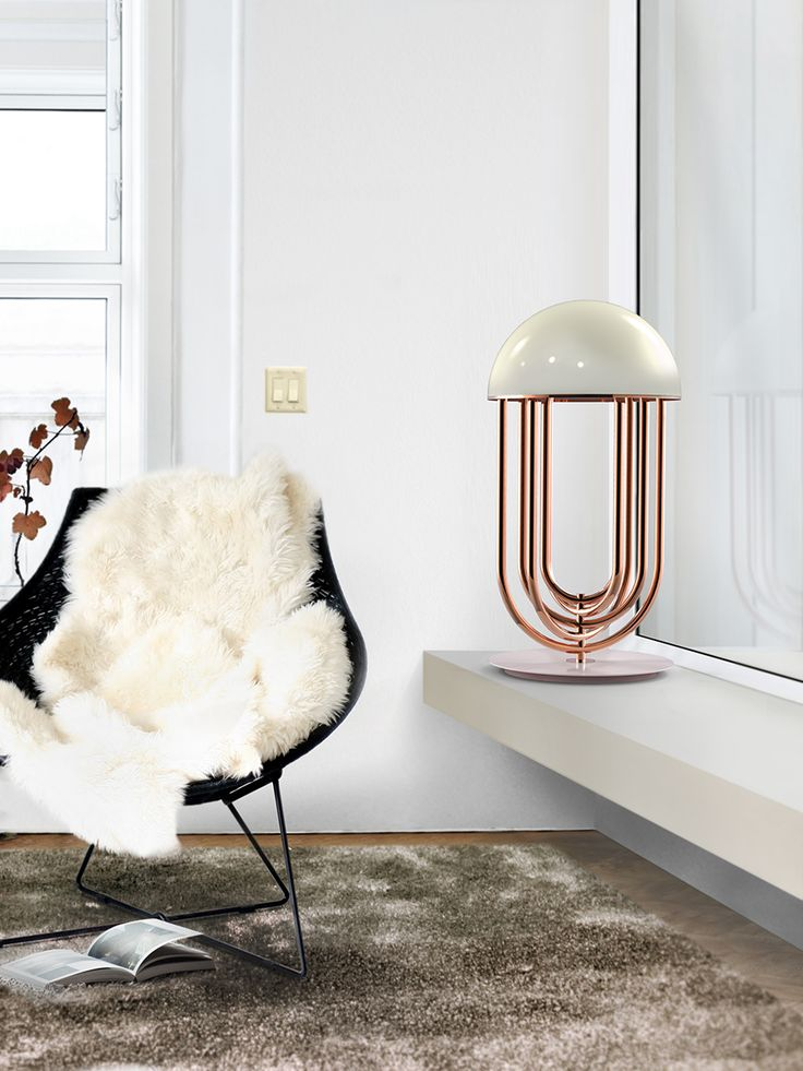 A great tip on how to create the perfect reading spot in your living room is by choosing the perfect lighting. So go DelithFULL with the super contemporary Turner table lamp. The luxury blanket the brings inspiration for any interior design.
