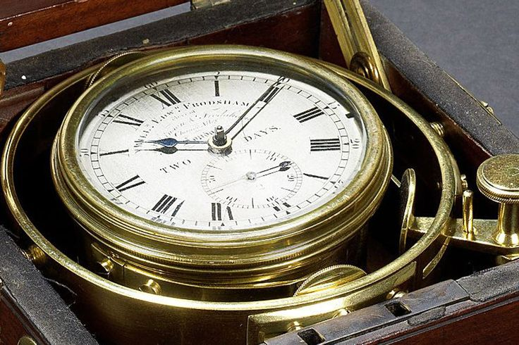 HMS Beagle Marine chronometer - FOUND: The Actual Marine Chronometer That Accompanied Charles Darwin at the HMS Beagle on his Journey to the Galapagos Islands. Read more in the article...